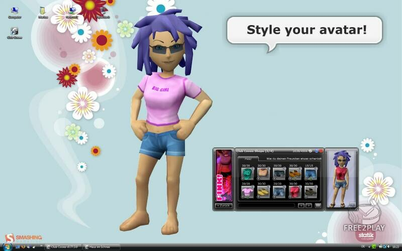 Club cooee ita club cooee italiano for Crea il tuo avatar arreda le tue stanze